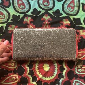sparkly fun wallet